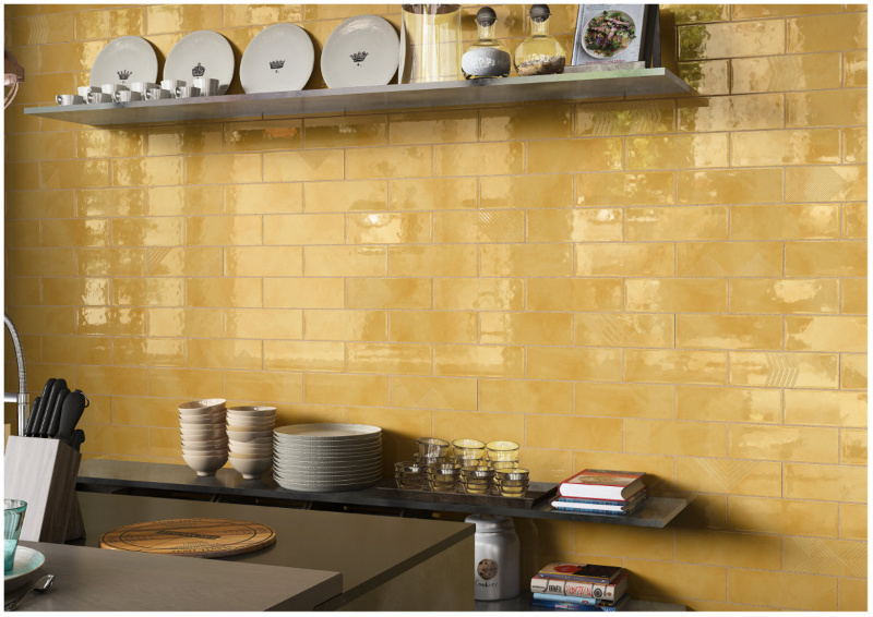 Glass Look Subway Tile from India
