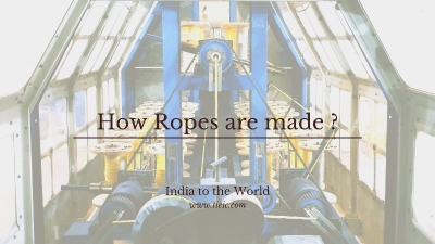 How Ropes are made?