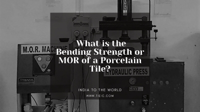 What is the Bending Strength or MOR of a Porcelain Tile?